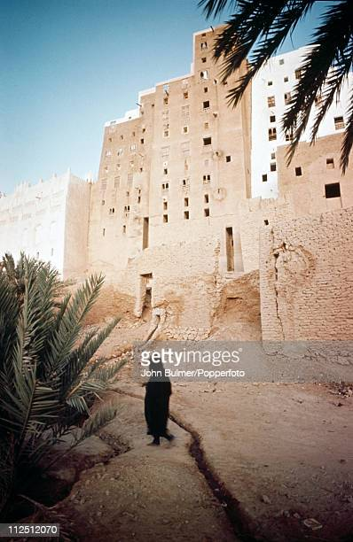 Shibam a town built of mud brick towers in South Yemen circa 1977 Its unusual architecture have made it a UNESCO World Heritage Site