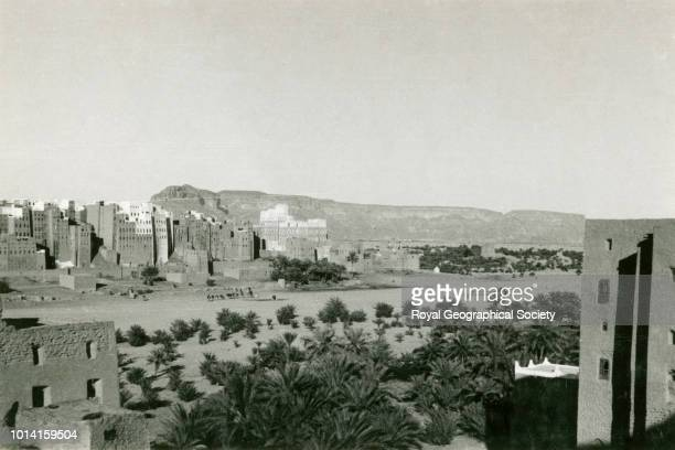 Shibam Hadhramaut Yemen 1929