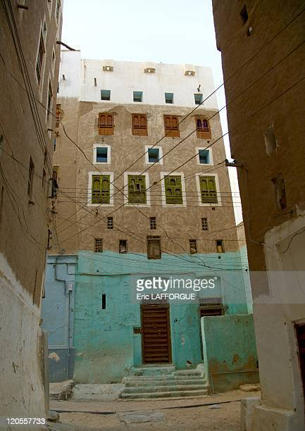Shibam old town in Hadhramaut Yemen on May 19 2006 Surrounded by a fortified wall the 16th century city of Shibam is one of the oldest and best...