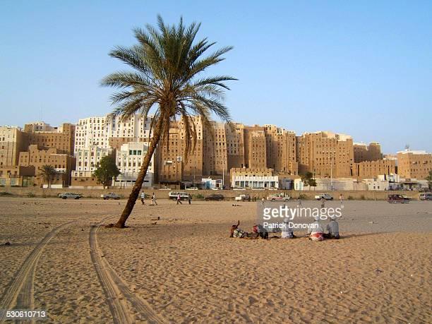 shibam, yemen - arabian peninsula stock pictures, royalty-free photos & images