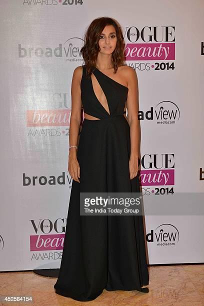 Shibani Dandekar at Vogue Beauty Awards in Mumbai