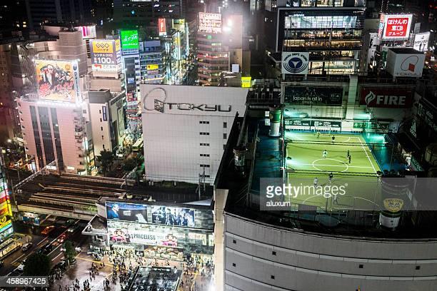 Shibuya at night Tokyo Japan