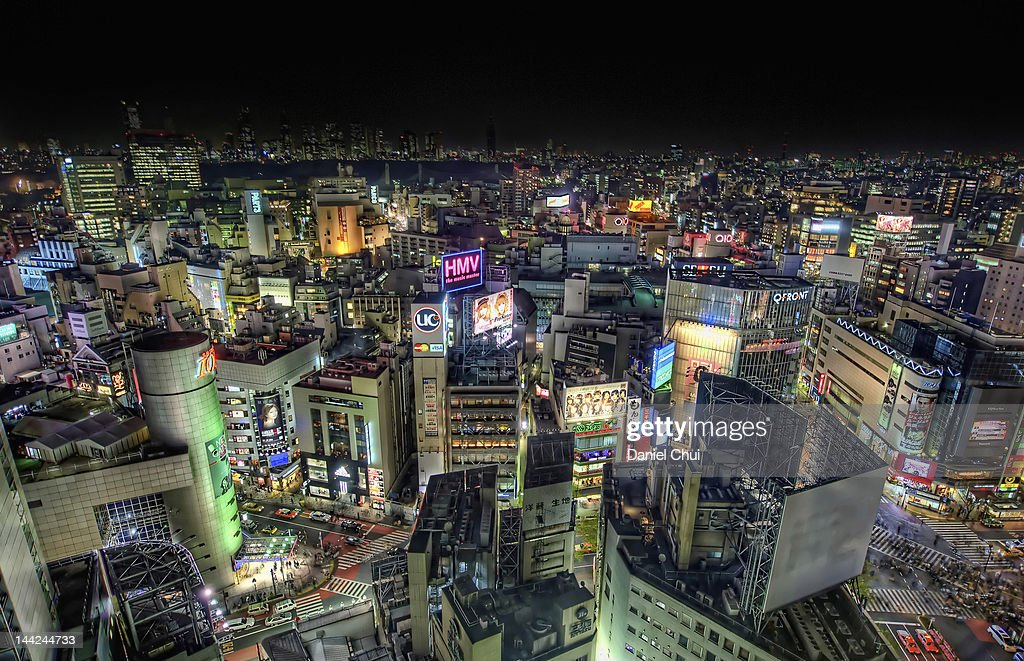Shibuya city : Stock Photo
