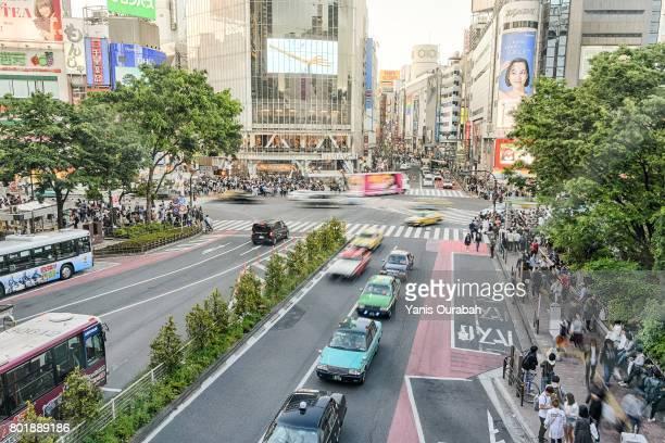 Shibuya crossing scramble
