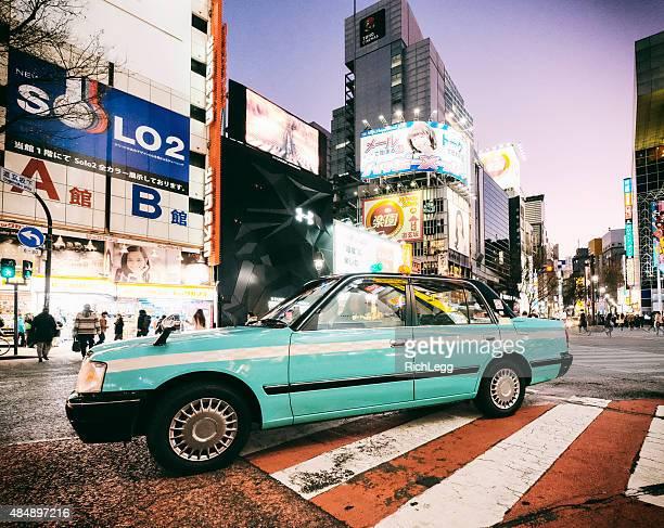 渋谷の日本の夜