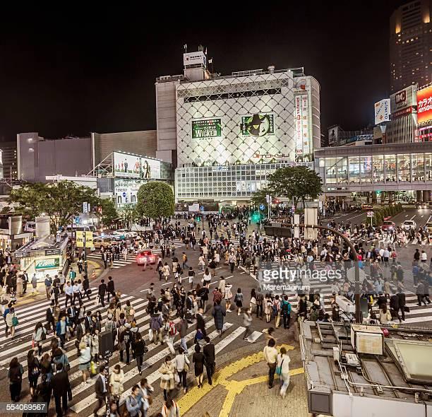 Shibuya, Shibuya crossing