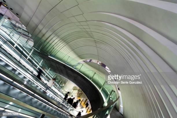 shibuya station extension - christian beirle gonzález stock-fotos und bilder