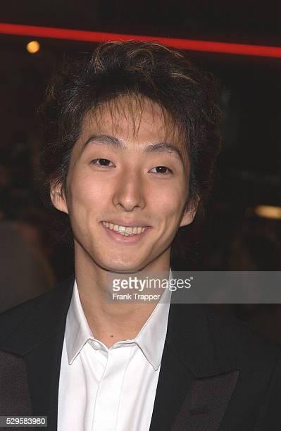 "Shichinosuke Nakamura arrives at the premiere of ""The Last Samurai""."
