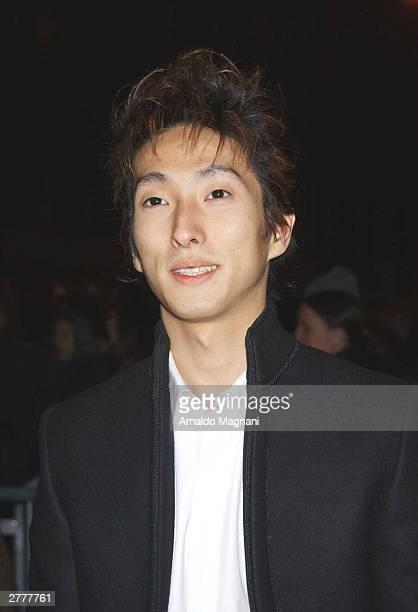 "Shichinosuke Nakamura attends the Warner Bros. Film premiere of ""The Last Samurai"" at the Ziegfeld Theatre December 2, 2003 in New York City."