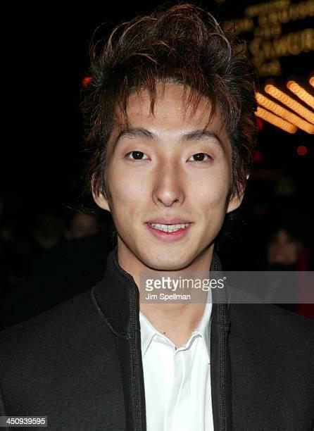 Shichinosuke Nakamura during The Last Samurai - New York Premiere - Outside Arrivals at The Zeigfield Theater in New York City, New York, United...