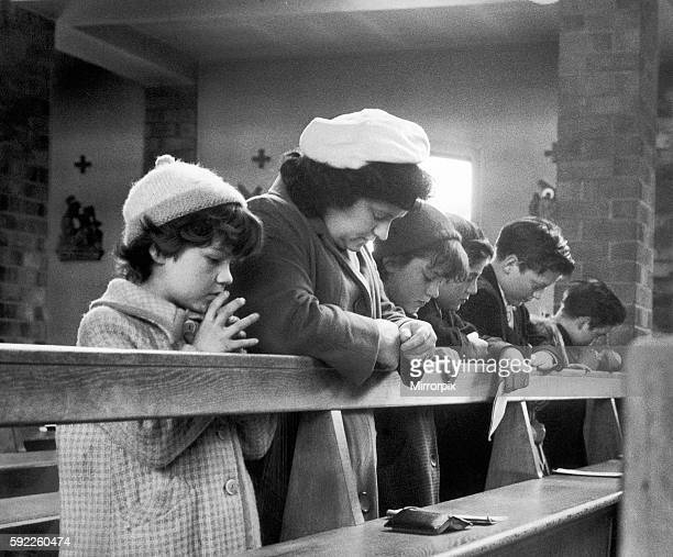 Shiela Kilbride mother of John Kilbride with family prays for her son who she hasn't seen for 18 months today 15th May 1965 which is his birthday The...