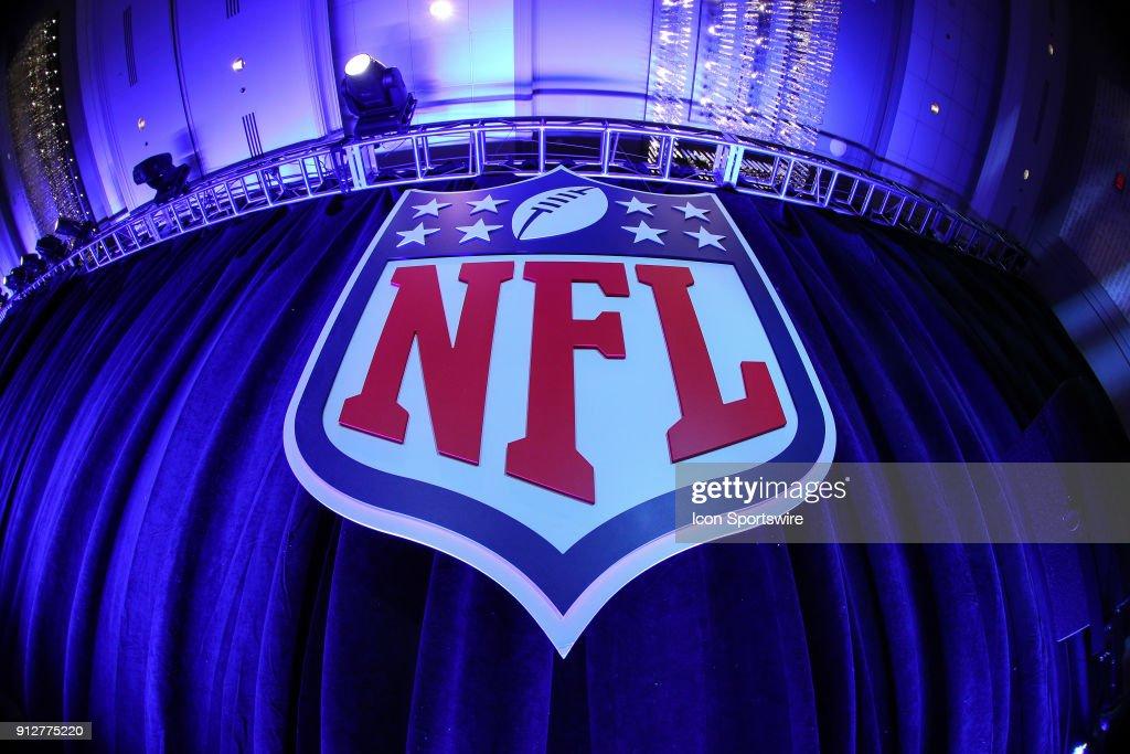 NFL: JAN 31 Super Bowl LII Preview - Commissioner Goodell Press Conference : News Photo