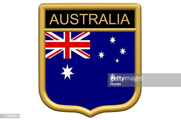 Schildaufnäher-Australien
