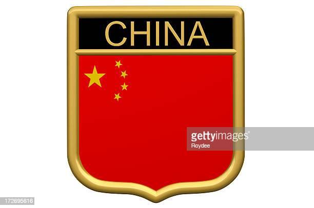 Schildaufnäher-China