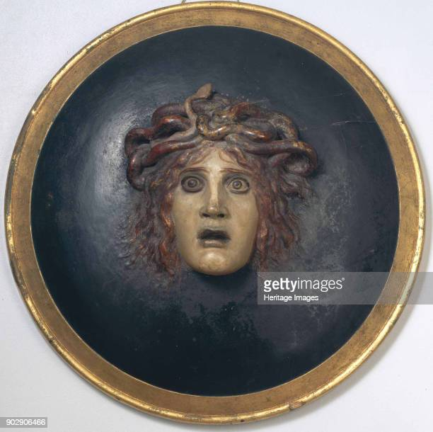 Shield with the head of Medusa Private Collection