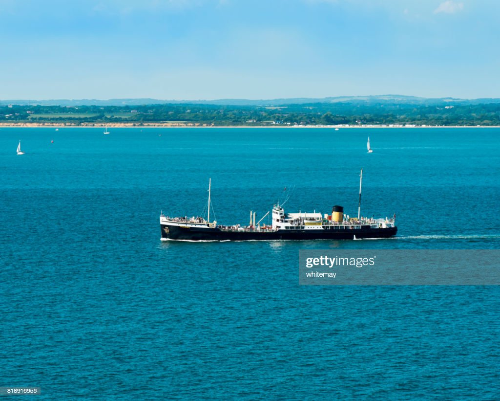 Ss Shieldhall Britains Largest Working Steam Ship In Southampton ...