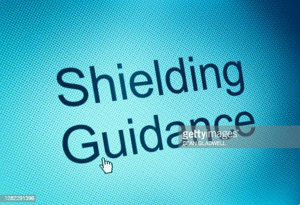 shielding guidance - department of health stock pictures, royalty-free photos & images
