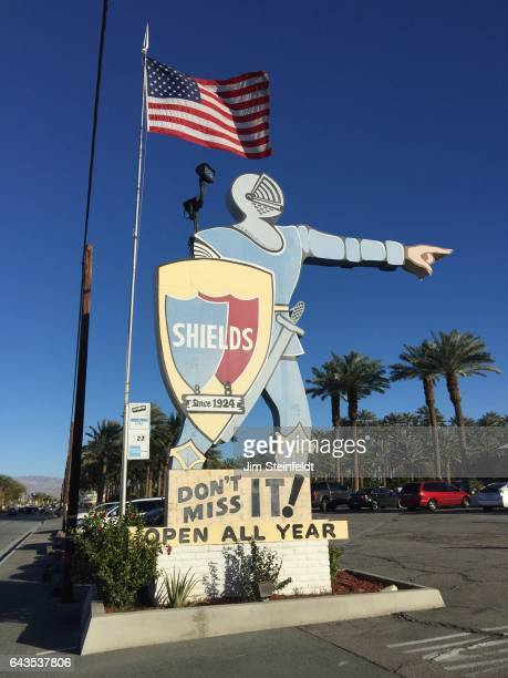 Shields Date Gardens at Indio California on January 21 2017