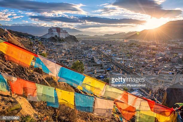 Shigatse monastery in Tibet