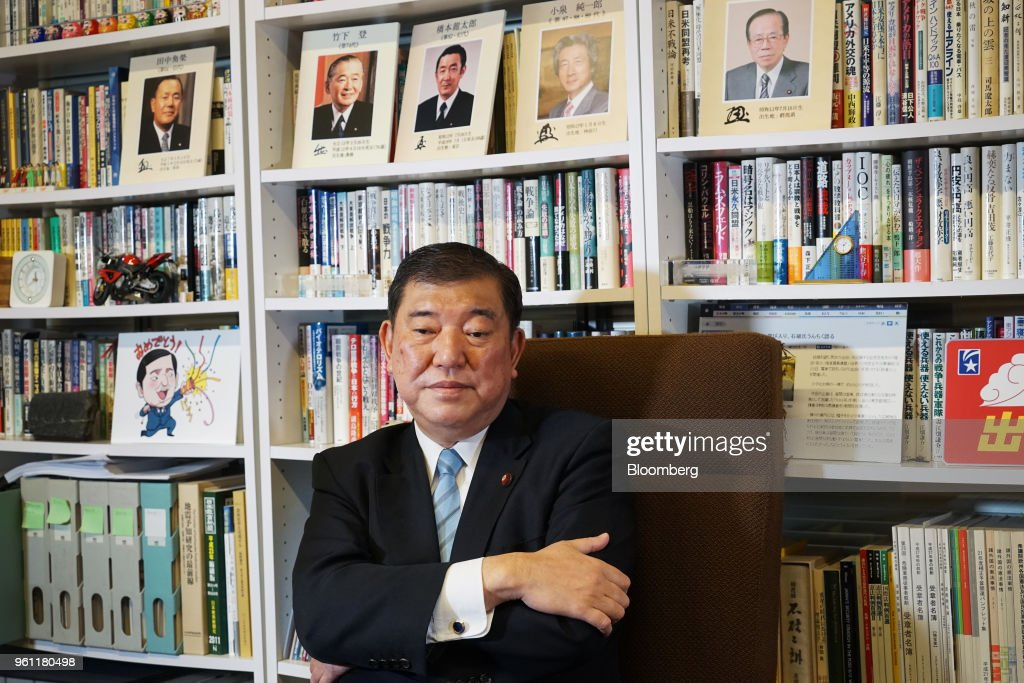 Japan's Former Defense Minister Shigeru Ishiba Interview