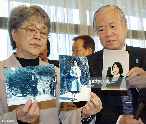 Shigeru Sakie Yokota Parents Of Megumi Who Was Abducted To North Korean In 1977 Shows