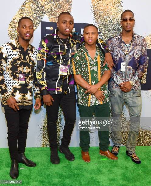 Shiggy arrives at the BET Hip Hop Awards 2018 at Fillmore Miami Beach on October 6 2018 in Miami Beach Florida