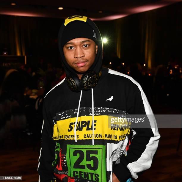 Shiggy attends 2018 BET Social Awards Dinner at TWELVE Atlantic Station on March 02 2019 in Atlanta Georgia