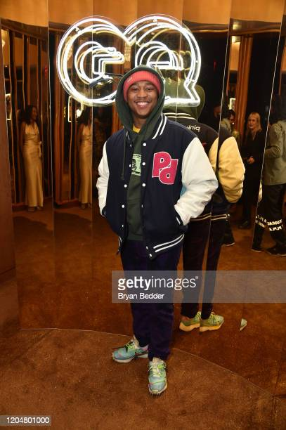 Shiggy attends the GQ March Cover Party at The Standard Highline on March 01 2020 in New York City