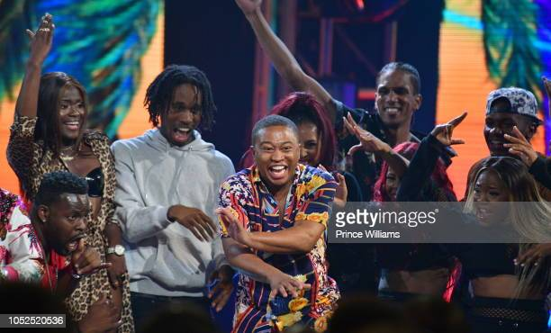 Shiggy performs at the BET Hip Hop Awards 2018 at Fillmore Miami Beach on October 6 2018 in Miami Beach Florida