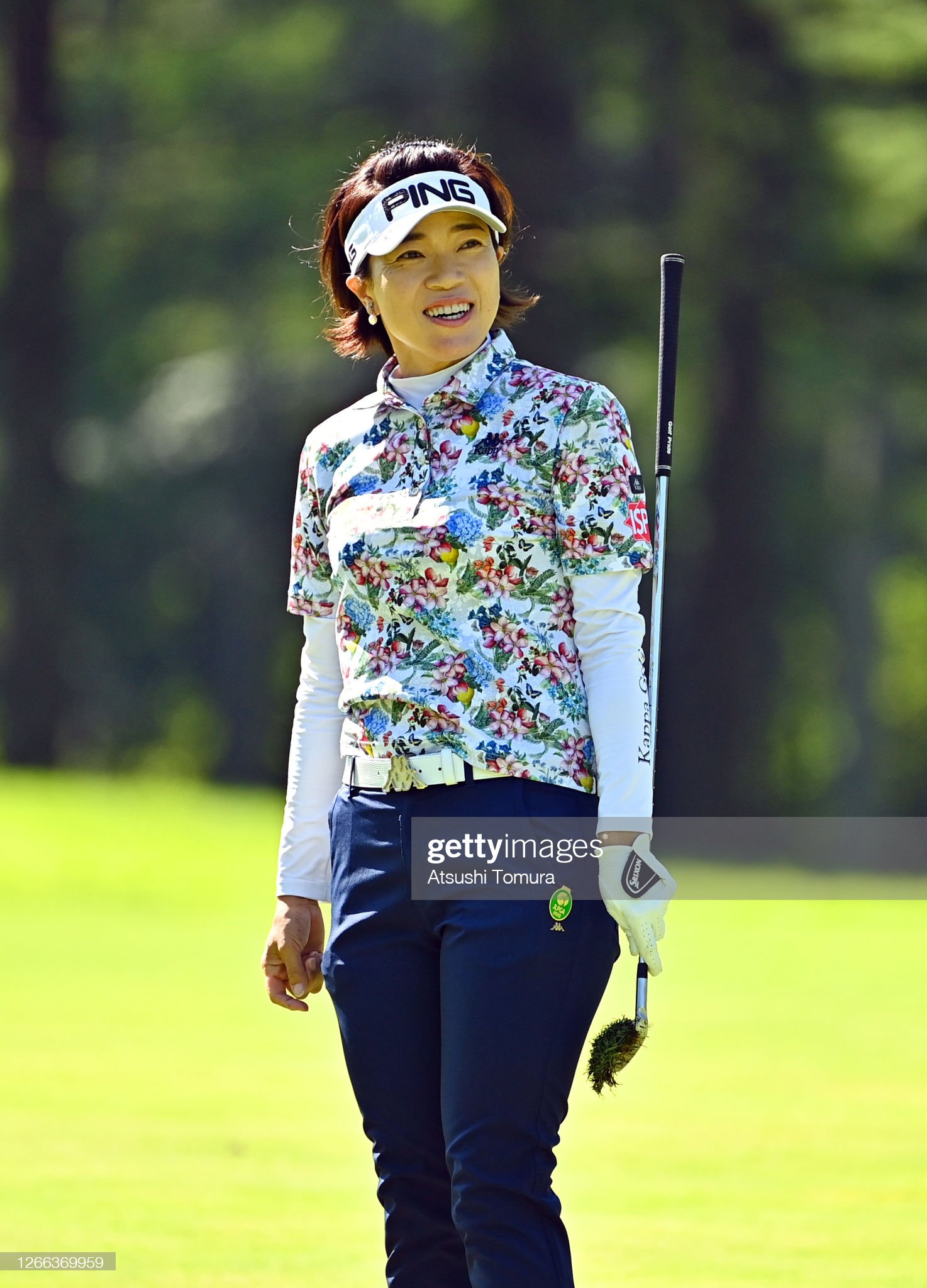 https://media.gettyimages.com/photos/shiho-oyama-of-japan-reacts-after-her-second-shot-on-the-4th-hole-picture-id1266369959?s=2048x2048