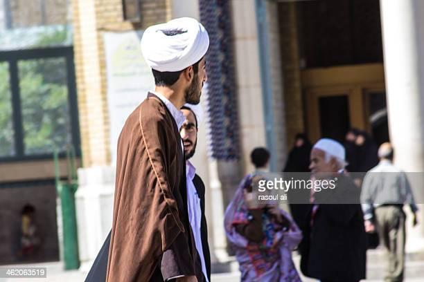 Shiite clerics ..Iranian family ..Pakistani visitors ..Mobile ...Man ..Girl ..Ms. Massouma shrine Iran .. Qom Photography Rasoul Ali