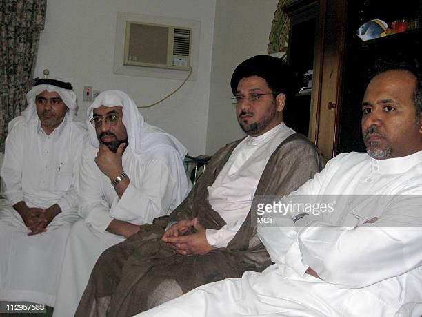 Shiite Muslim community leaders gather for lunch in Qatif the de facto capital of Saudi Arabia's Shiite heartland in the Eastern Province Shiites...