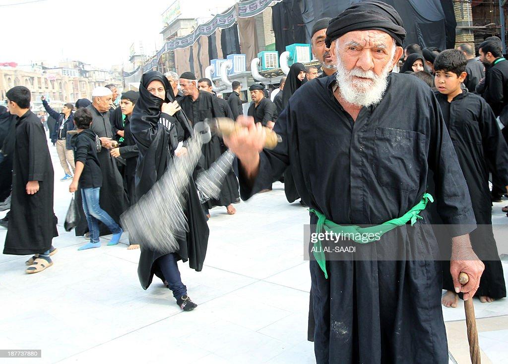IRAQ-RELIGION-ISLAM-ASHURA : News Photo