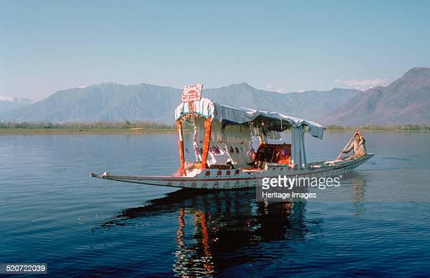 Shikara on Dal Lake Srinagar Kashmir India