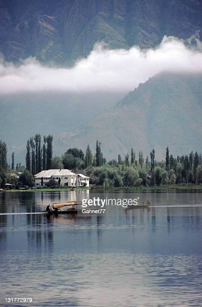 Shikaras on Dal Lake, Kashmir