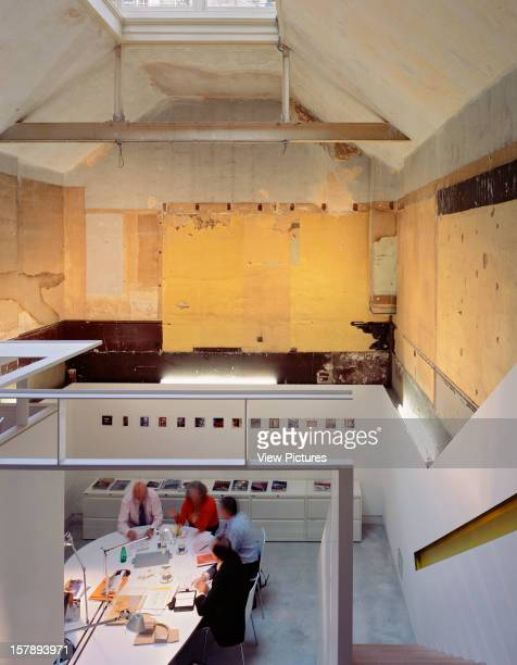 Shillam Smith 3, London, United Kingdom, Architect Shillam And Smith, Shillam Smith 3 Office And Meeting Space From Gallery Level.