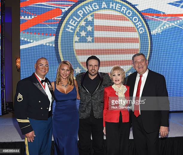 Shilo Harris 60 Minutes Correspondent/Mistress of Ceremonies Lara Logan Singer/Songwriter Mark Wills Defense of Freedom Award Recipient Joanne King...