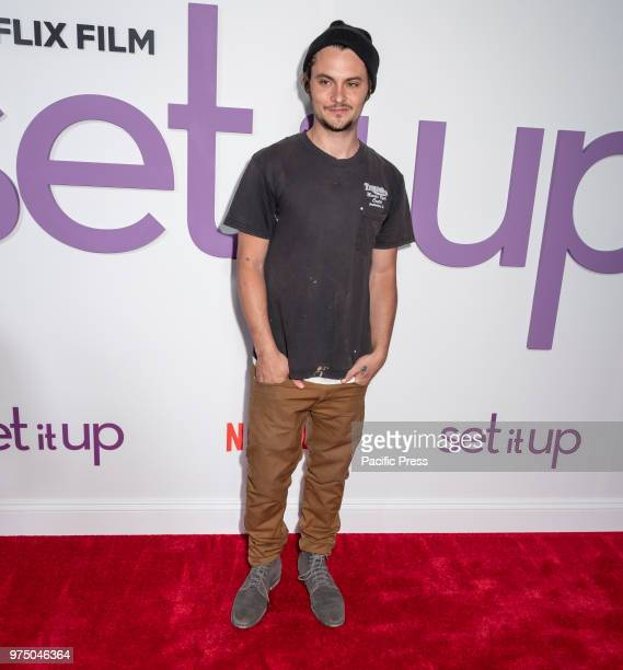 Shiloh Fernandez attends the New York special screening of the Netflix film 'Set It Up' at AMC Loews Lincoln Square.