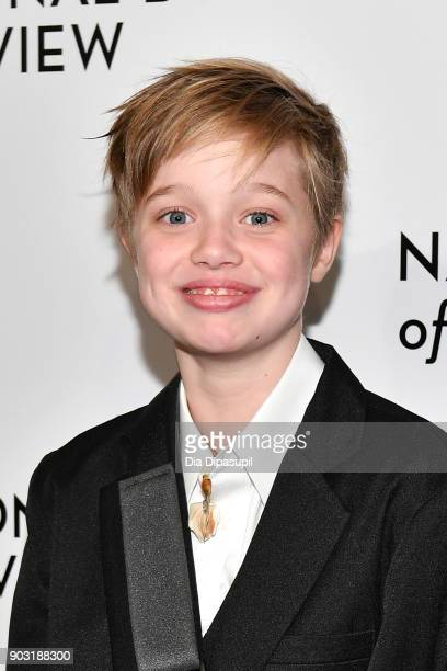 Shiloh Jolie-Pitt attends the 2018 National Board of Review Awards Gala at Cipriani 42nd Street on January 9, 2018 in New York City.