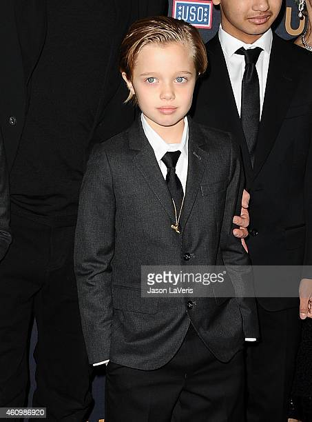 Shiloh Nouvel JoliePitt attends the premiere of 'Unbroken' at TCL Chinese Theatre IMAX on December 15 2014 in Hollywood California
