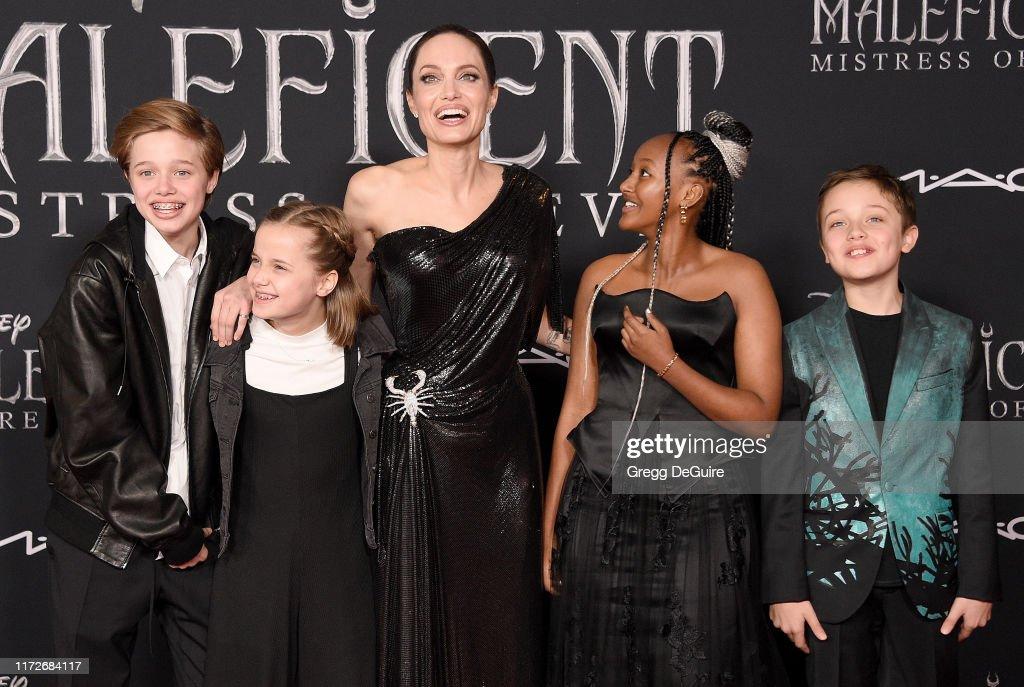 "World Premiere Of Disney's ""Maleficent: Mistress Of Evil""  - Arrivals : Foto di attualità"