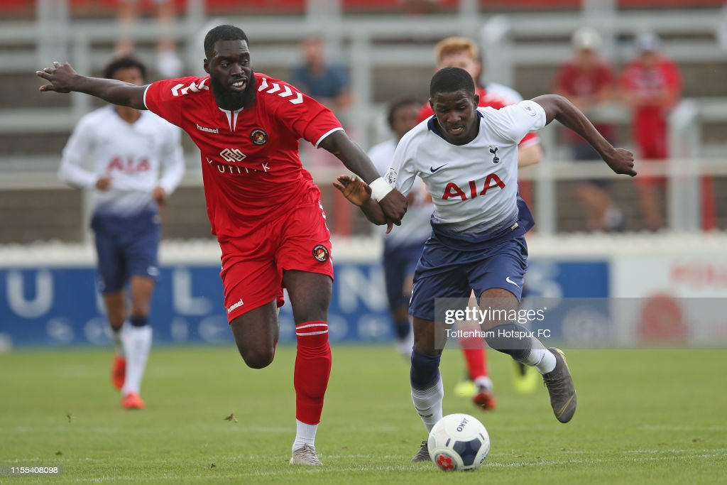 Ebbsfleet United v Tottenham Hotspur U23: Pre-Season Friendly : News Photo