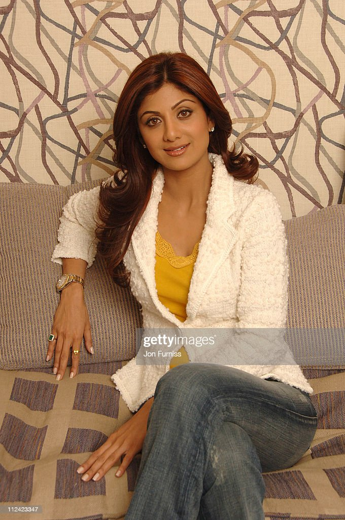 Photo Session with Shilpa Shetty at the Soho Hotel in London