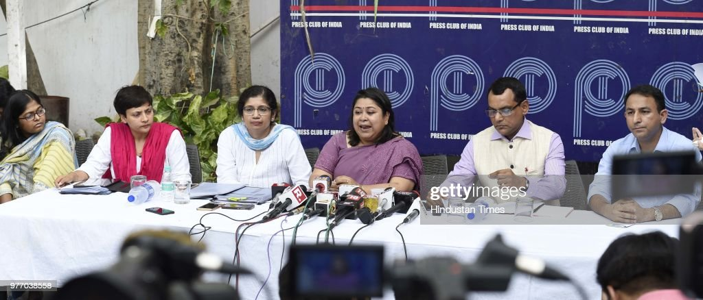 Press Conference Of IAS Officers At Press Club Of India