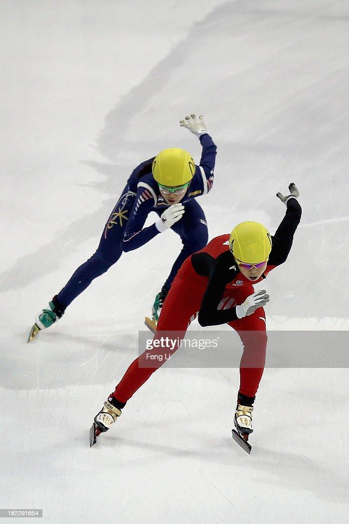 World Cup Short Track Skating - Day 4