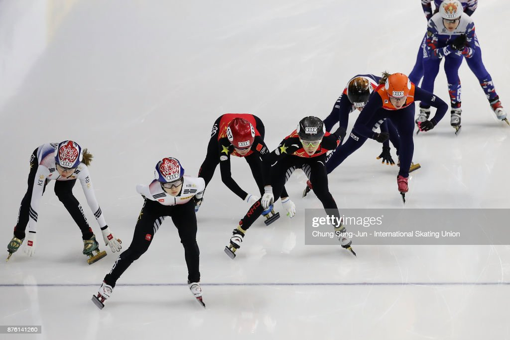 Audi ISU World Cup Short Track Speed Skating - Seoul