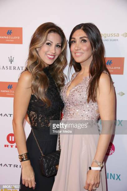 Shima Lehmann and her sister attend the Movie Meets Media event 2017 at Hotel Atlantic Kempinski on November 27 2017 in Hamburg Germany