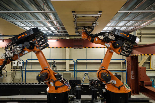 Shimizu Corporation Presents Construction Robots Photos and Images