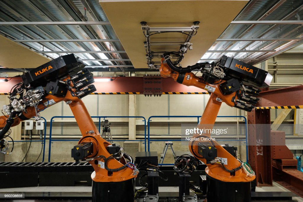 Shimizu Corporation Presents Construction Robots