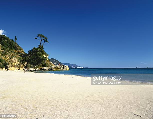 Shimoda Shirahama Beach, Shimoda, Shizuoka Prefecture, Japan